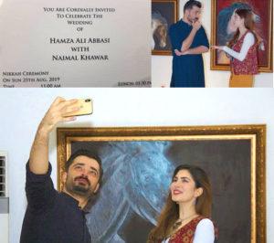Hamza ali abbassi to marry