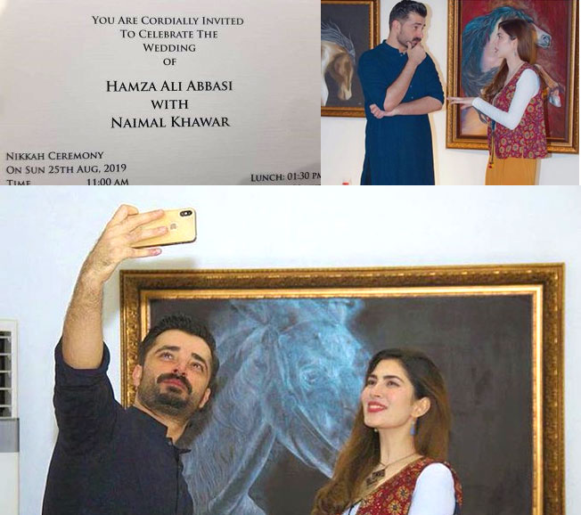 Hamza ali abbassi to marry