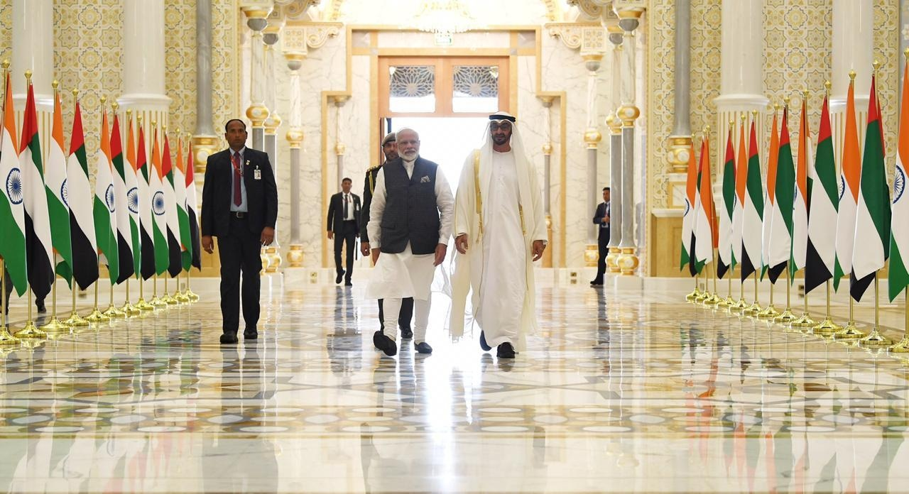 Indian PM in UAE