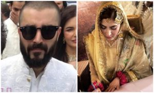 Hamza ali abbassi married with naimal khawar