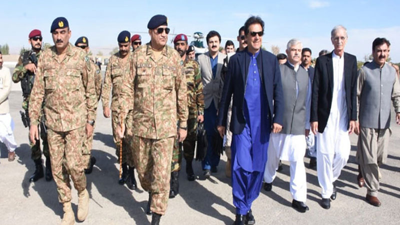 Imran Khan and Chief of Army Staff visit the Line of Control today on defense day