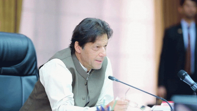 PM Imran Khan says that Pakistan wont make the first move in case of a war with India.