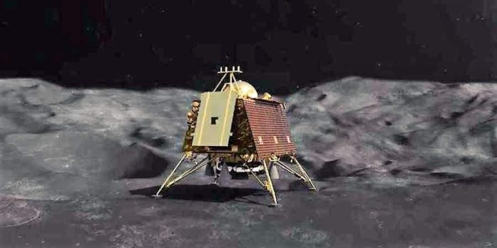 VikramLander has been located by the orbiter of Chandrayaan2